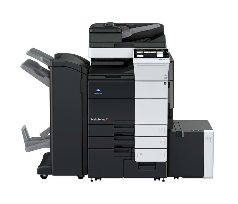 Konica Minolta bizhub c759 office printer